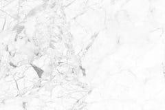 Vit marmortextur i den naturliga modellen, vitt stengolv Arkivfoto