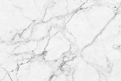 Vit marmortextur, modell för lyxig bakgrund för hudtegelplattatapet Arkivbilder