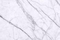 Vit marmortextur sköt igenom med vit djup veining Royaltyfria Foton
