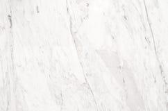 Vit marmortexturbakgrund, abstrakt naturlig textur för de Royaltyfri Fotografi
