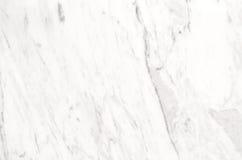 Vit marmortexturbakgrund, abstrakt naturlig textur för de Royaltyfri Bild