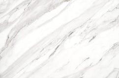 Vit marmortexturbakgrund, abstrakt naturlig textur för de Arkivfoto