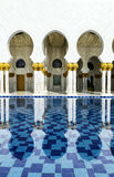 Vit moské Arkivfoto
