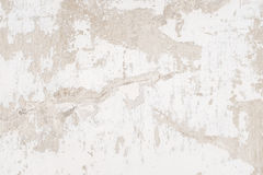 Vit murbrukväggbakgrund, grunge Arkivbild