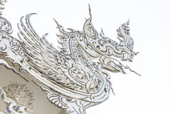 Vit Naga som är konsten av templet Arkivbilder