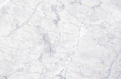 Vit och grå färger marmorerar textur med delikata åder Arkivfoton