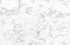 Vit och grå färger marmorerar textur med delikata åder Royaltyfri Bild