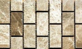 Vit och grå marmor från rektangel fotografering för bildbyråer