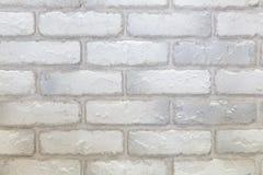 Vit och grå textur för tegelstenvägg Arkivfoton