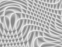 Vit och ljus - grå futuristisk modell Monochromatic design fo stock illustrationer