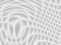 Vit och ljus - grå futuristisk modell Monochromatic design fo royaltyfri illustrationer