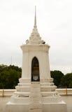 Vit pagod Arkivbild