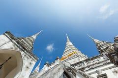 Vit Pagoda Royaltyfri Foto