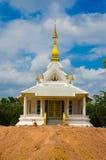 Vit Pagoda Arkivbild