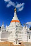 Vit Pagoda Royaltyfri Bild