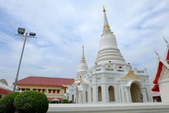 Vit Pagoda Arkivbilder