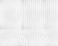 Vit panelväggbakgrund Arkivbilder