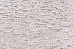 Vit plasterwork med abstrakt textur Royaltyfri Bild