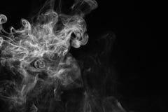 Vit röker Royaltyfria Foton