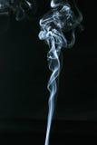 Vit röker fotografering för bildbyråer