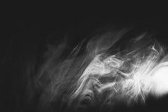 Vit röker Arkivbild