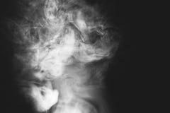 Vit röker Royaltyfri Foto
