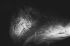 Vit röker Arkivfoto