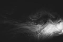 Vit röker Royaltyfri Bild