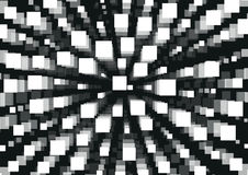 Vit rektangelabstrakt begreppbakgrund Fotografering för Bildbyråer