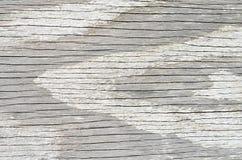 Vit ridit ut texturerat trä Royaltyfri Foto