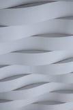Vit sömlös geometrisk textur Arkivbild