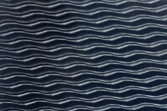 Vit sömlös textur wavy bakgrund Innervägggarnering modell för panel 3D av abstrakta vågor Fotografering för Bildbyråer