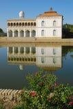 Vit slott - uppehållet av emir av Bukhara Arkivfoton