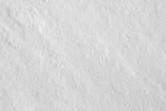 Vit snöbakgrundstextur Arkivbilder