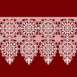 Vit snör åt ramen royaltyfri illustrationer