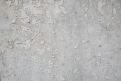 Vit spricka målad vägg arkivbild