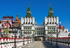 Kremlin i Izmaylovo i Moscow, Ryssland Arkivfoton