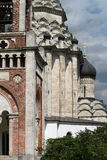 Vit stenkyrka, kupolen royaltyfri fotografi