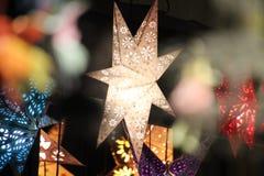 Vit stjärna Royaltyfria Bilder