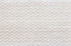 Vit tegelsten på väggbakgrund Royaltyfria Bilder