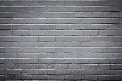 Vit tegelstenvägg Arkivbild