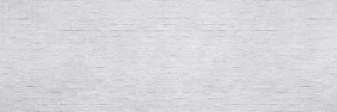 Vit tegelstenvägg för texturbakgrund royaltyfri fotografi