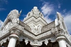 Vit tempel Royaltyfri Bild