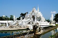 Vit tempel Arkivbild