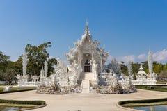 Vit tempel av Thailand Fotografering för Bildbyråer