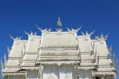 Vit tempel, Wat Rong Khun Arkivbilder