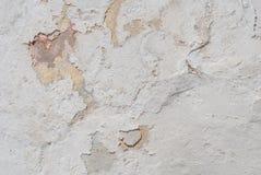Vit textur, abstrakt begreppbetong, gammal kanstött murbruk på betongväggen, bakgrund Royaltyfria Bilder