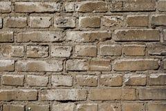 Vit textur eller bakgrund för tegelstenvägg Fotografering för Bildbyråer