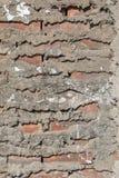Vit textur eller bakgrund för tegelstenvägg Arkivbild