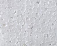Vit textur för kemisk cirkel för skum plast- arkivbilder